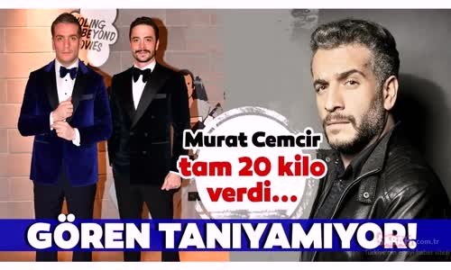 Murat Cemcir Değişimi İle Şaşırttı - 20 Kilo Veren Murat Cemcir'i Gören Tanımakta Zorlanıyor