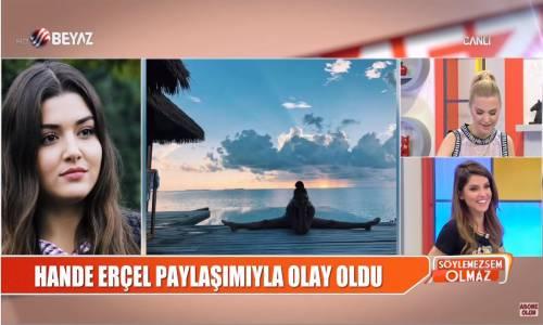 Hande Erçel'in Paylaşımını Gören Bircan Bali'nin Gözü Korktu