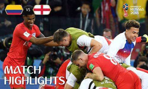 Kolombiya 1 - 1 İngiltere - 2018 Dünya Kupası Maç Özeti