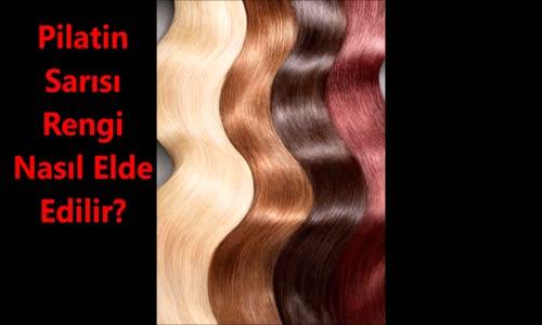 Platin Saç Rengi Nasıl Yapılır!!