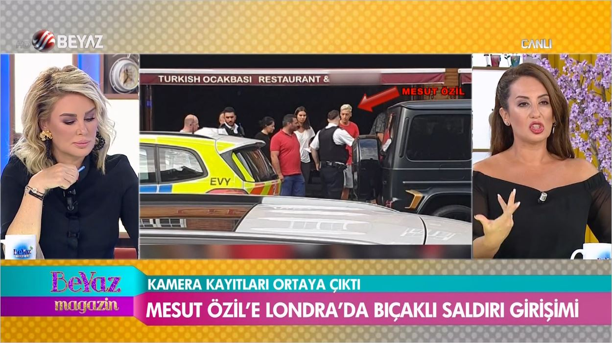 Yıldız Oyuncu Mesut Özil'e Çirkin Saldırı
