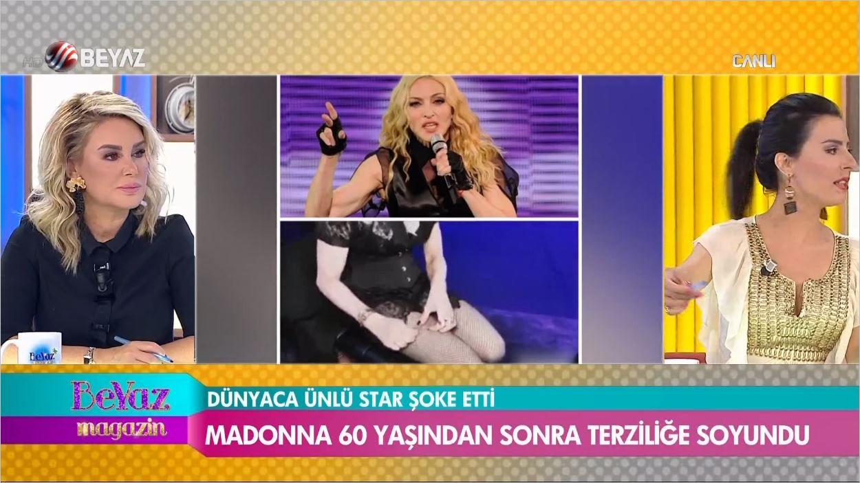 Madonna 60 Yaşından Sonra Terziliğe Soyundu