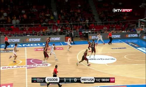 Maç Özeti_ Galatasaray Odeabank - Muratbey Uşak