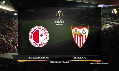 Slavia Prag 4 - 3 Sevilla Maç Özeti İzle