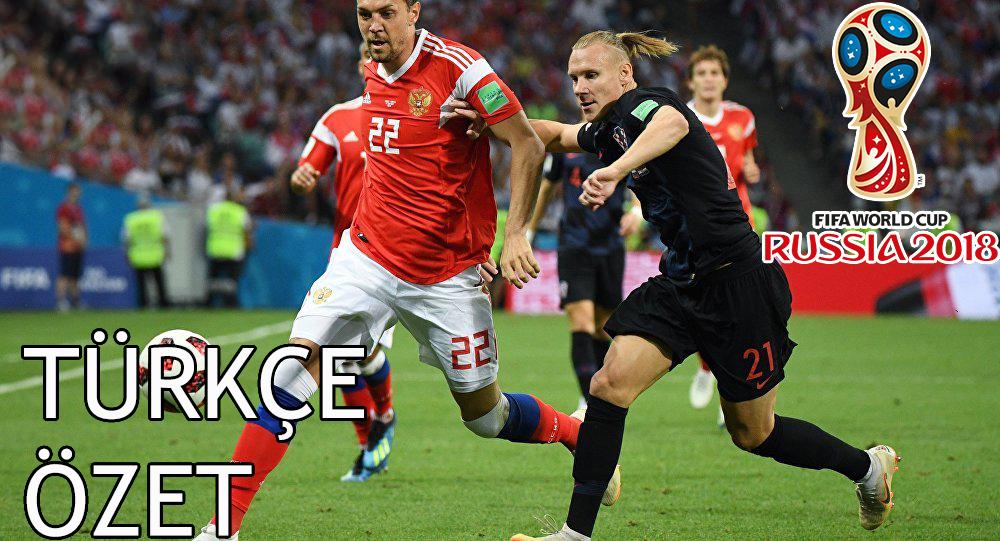 Rusya 2 - 2 Hırvatistan 2018 Dünya Kupası Maç Özeti