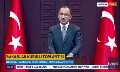 Bozdağ'dan Kılıçdaroğlu'na  Teröriste Kimlik mi Soracağız