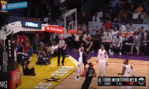 NBA 2018 All-Star Özeti Team LeBron vs Team Stephen