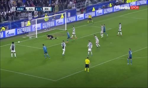 Juventus 0 - 3 Real Madrid - UEFA Şampiyonlar Ligi Maç Özeti