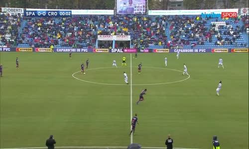 Serie A 7.Hafta - SPAL 1-1 Crotone Maç Özeti