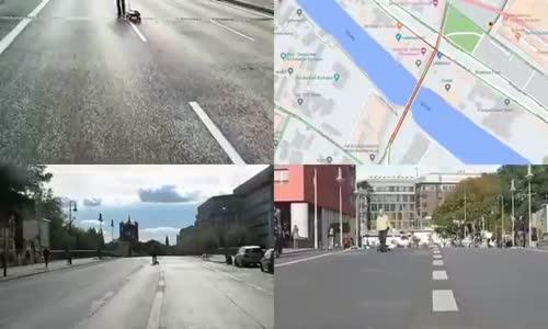 Google Maps'i kandırmanın yolunu bulmuş