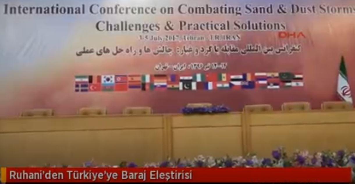 Ruhani'den Türkiye'ye Baraj Eleştirisi