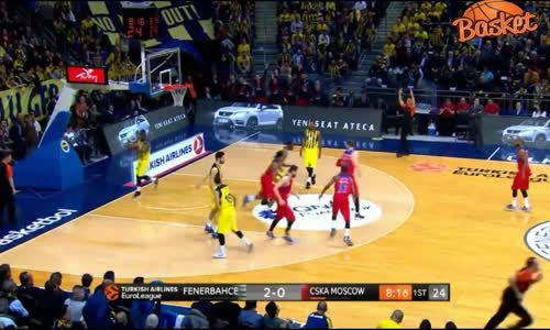 Fenerbahçe- CSKA Moskova_ 77-71 Maç Özeti (Highlights) 02.02.2017