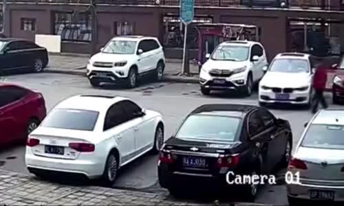 Ehliyetini Kasaptan Alan Kadın Sürücü