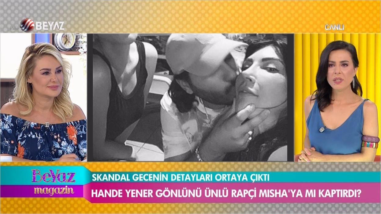 Hande Yener Kalbini Rapçiye Kaptırdı