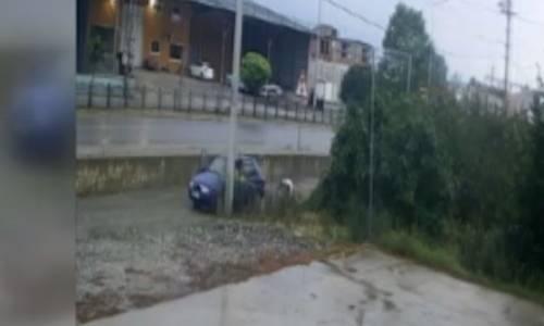 Samsun'da 72 Yaşındaki Kişinin Darbedilmesi Güvenlik Kamerasında
