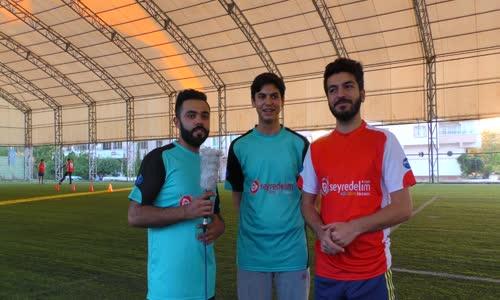 İsmail İle Futbol Parkur Yarışması Yaptık
