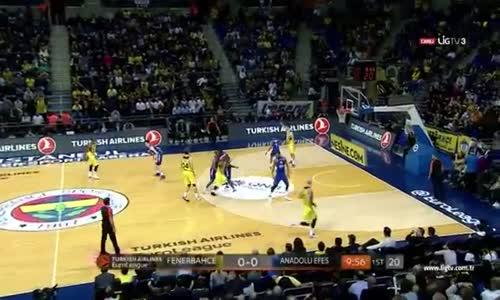 Fenerbahçe - Anadolu Efes 88-80 Euroleague Maç Özeti