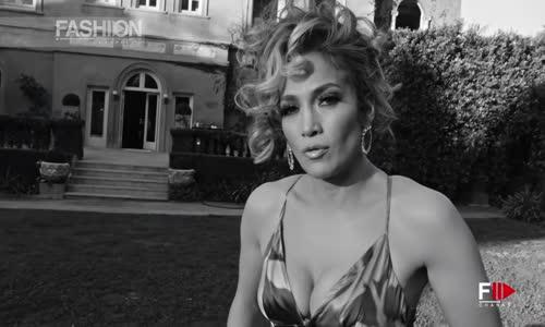 JENNIFER LOPEZ Perde Arkası GUESS Kampanyası için SS 2020 - Fashion Tv