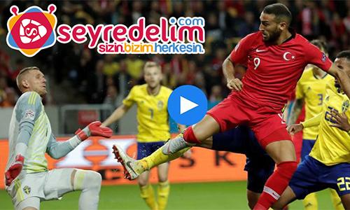 İsveç 2 - 3 Türkiye Maç Özeti