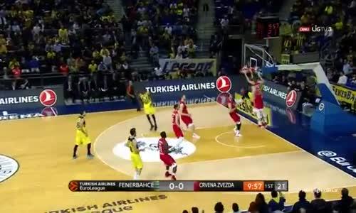Fenerbahçe 87 - 72 Kızılyıldız ÖZET