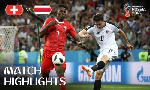 İsviçre 2 - 2 Kosta Rika - 2018 Dünya Kupası Maç Özeti