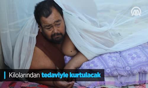 İskenderun 250 Kilo Olan Adam Hastaneye Götürüldü