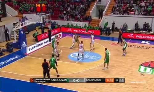 Unics Kazan - Galatasaray 73 - 60 Maç Özeti
