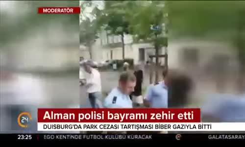 Almam Polisi Türk Aileye Bayramı Zehir Etti