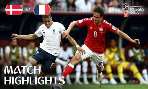 Danimarka 0 - 0 Fransa - 2018 Dünya Kupası Maç Özeti