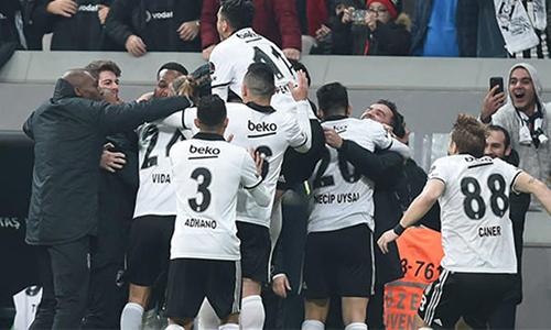 Beşiktaş 1 - 0 Galatasaray Maç Özeti