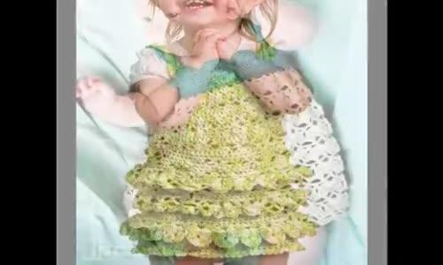Kız Çocuk İçin Çok Şık Örgü Modeller