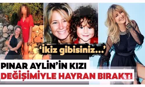 Pınar Aylin Çok Şaşırttı - Pınar Aylin'in Kızını Görenler İnanamadı