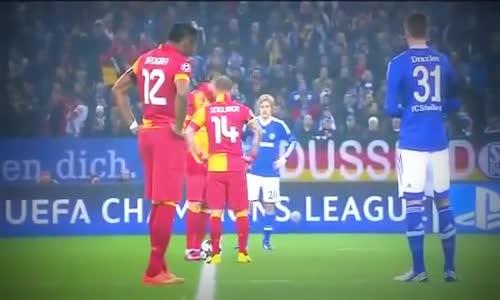 Schalke 04 vs Galatasaray 2_3 Maçın özeti 12.03.2013