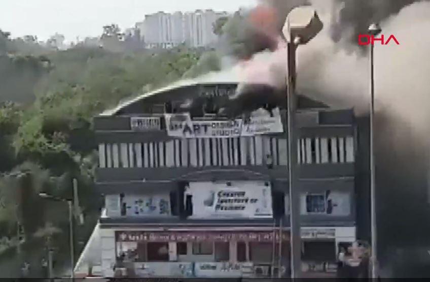 Eğitim Merkezinde Yangın - 12 kişi Öldü