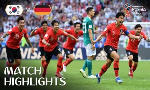 Güney Kore 2 - 0 Almanya - 2018 Dünya Kupası Maç Özeti