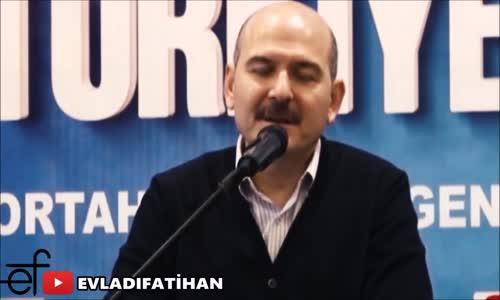 Erdoğan, Süleyman Soylu'nun İstifasını Bekleyenlere Çok Sinirlendi