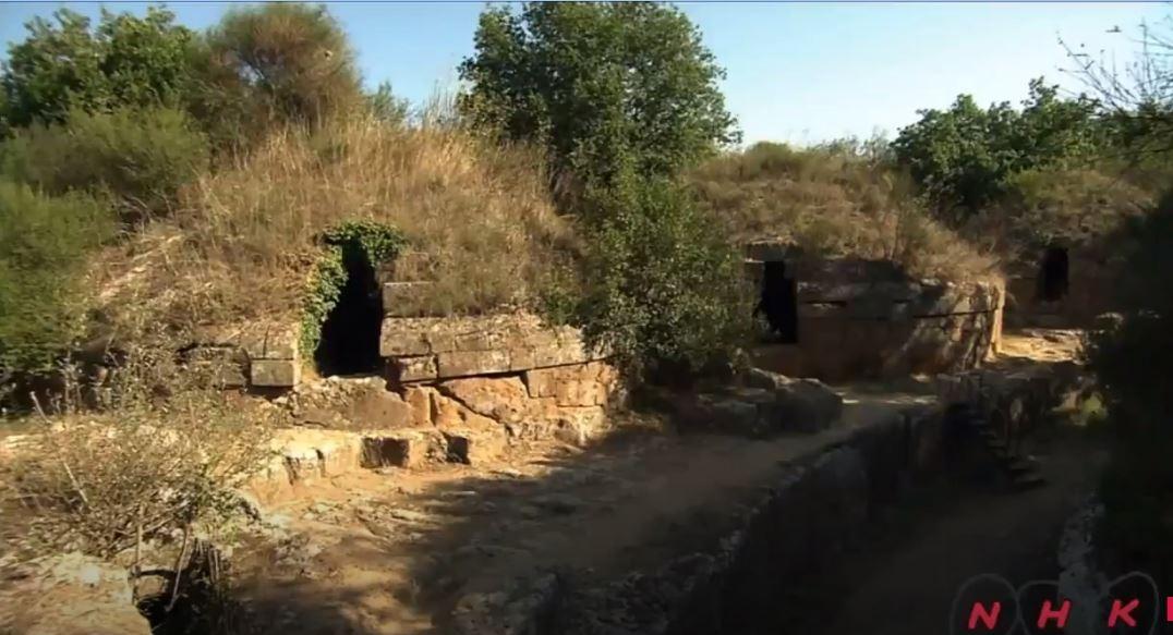 Cerveteri ve Tarquinia'daki Etrüsk Nekropolleri