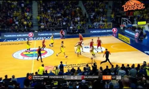 Fenerbahçe-Galatasaray Odeabank_ 85-80 Maç Özeti  26.01.2017