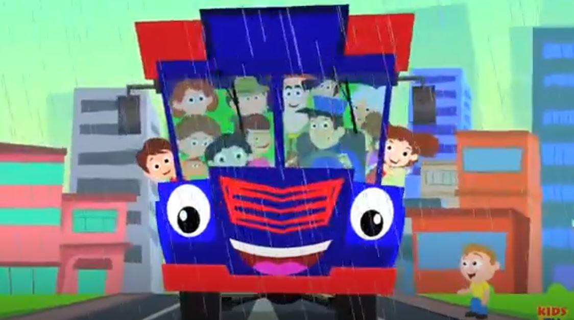 Taşıma Parmağı Aile - Çocuk İçin Tekerlemeler Ve Lego İle Ulaşım Öğrenin