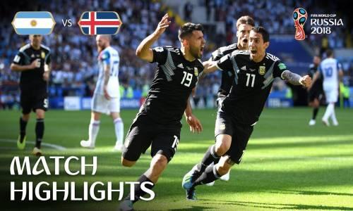 Arjantin 1 - 1 İzlanda - 2018 Dünya Kupası Maç Özeti
