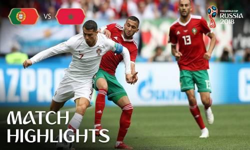 Portekiz 1 - 0 Fas - 2018 Dünya Kupası Maç Özeti