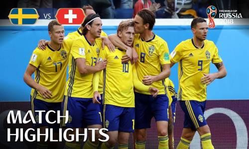 İsveç 1 - 0 İsviçre - 2018 Dünya Kupası Maç Özeti