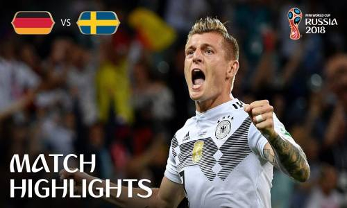 Almanya 2 - 1 İsveç - 2018 Dünya Kupası Maç Özeti