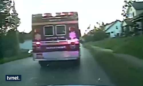 İçindeki Hastayla Beraber Ambulansı Çaldı