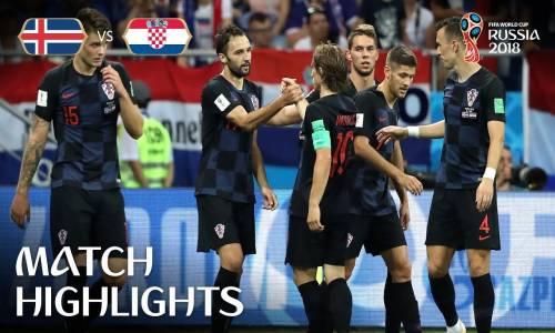 İzlanda 1 - 2 Hırvatistan - 2018 Dünya Kupası Maç Özeti