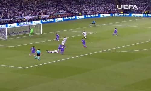 Mario Mandzukic'in Real Madrid Attığı Muthiş Golü
