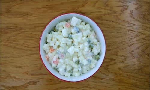 Makarna Salatası Tarifi