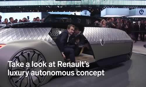 Fransız Otomobil Markası Renault, Şoför Koltuğu Yok !