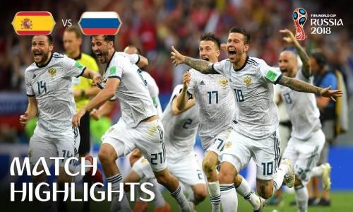 İspanya 1 - 1 Rusya - 2018 Dünya Kupası Maç Özeti