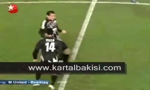 Manchester United 0-1 Beşiktaş